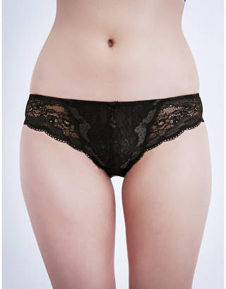Panache Clara stretch-lace and mesh briefs