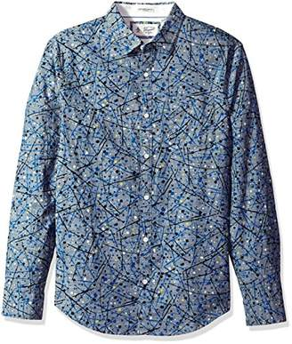 Original Penguin Men's Splatter Print Dress Shirt