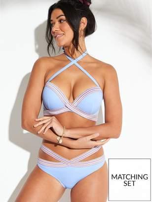 4258d54446 Boux Avenue Dominica Single Boost Bikini Top - Powder Blue