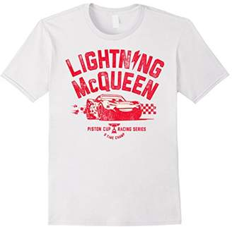 Disney Pixar Cars 3 Lightning McQueen Racing Graphic T-Shirt