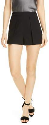 Alice + Olivia Larissa Pleat Detail Shorts