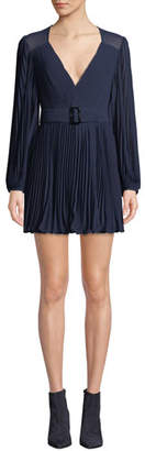 Fame & Partners The Fawcett Pleated Dress