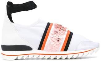 NO KA 'OI No Ka' Oi embellished ankle strap sneakers