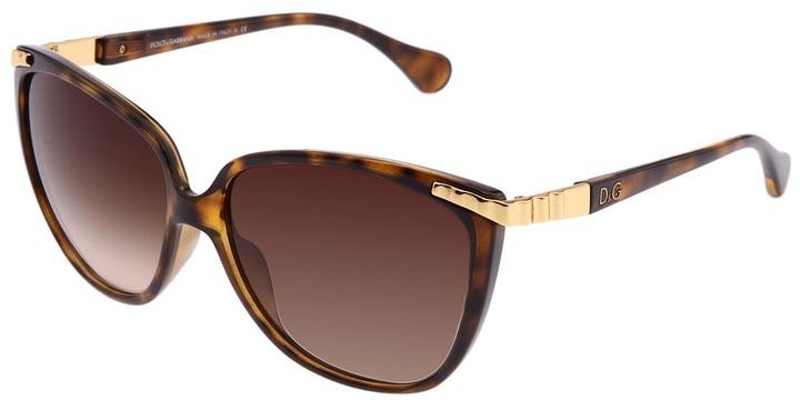 Dolce & Gabbana DD8096 (Havana/Brown Gradient) - Eyewear
