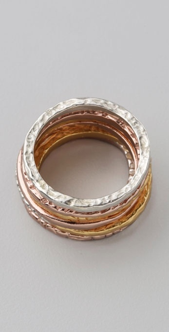 Gorjana Mixed Stacking Ring Set