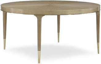 Caracole Edmor Dining Table - Pale Gray