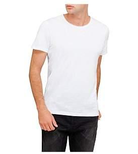 R & E RE: Raw Edge Cotton T-Shirt