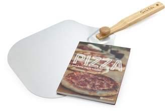 Sur La Table Folding Pizza Peel and Recipe Book Set