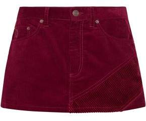 Marc Jacobs Cotton-Corduroy Mini Skirt