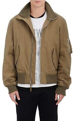 Helmut Lang RE-EDITION Men's Cotton Flannel Bomber Jacket