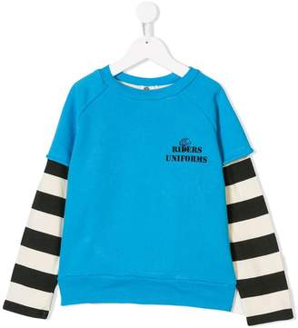Bandy Button Angel sweatshirt