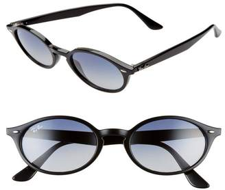 Ray-Ban 51mm Gradient Oval Sunglasses
