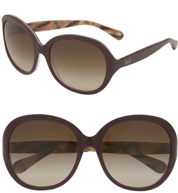 D&G Oversized Round Sunglasses
