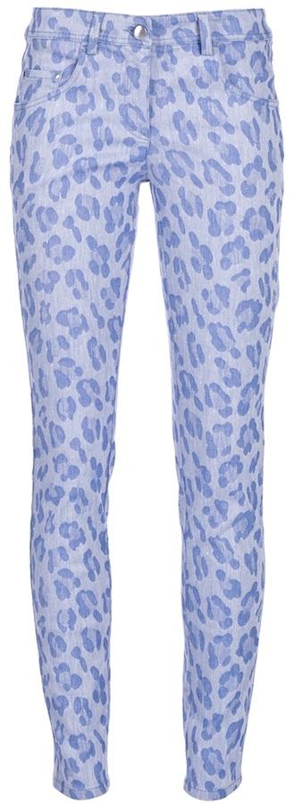 Mw Matthew Williamson Leopard print jeans