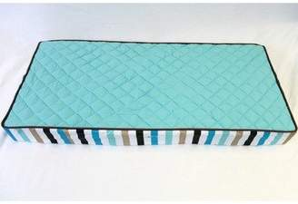 Bacati Modern Diamonds/Stripes A/C Dots Changing Pad Cover