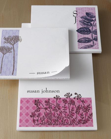 Botanical Notepads