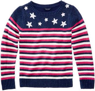 Tommy Hilfiger Stars and Stripes Sweater, Big Girls