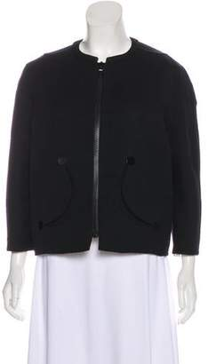 Marc Jacobs Wool Zip Up Jacket