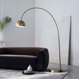 west elm Overarching Metal Shade Floor Lamp