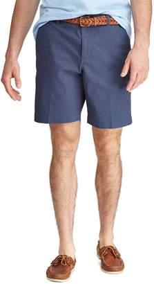 Chaps Men's Classic-Fit Stretch Flat-Front Shorts