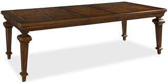 One Kings Lane Cezar Extension Dining Table - Cherry Espresso