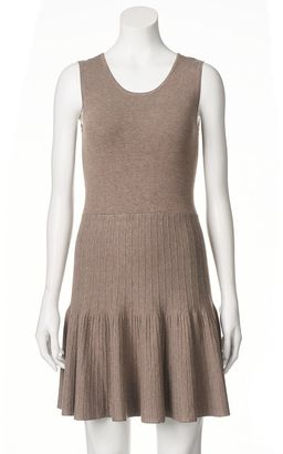 Women's Apt. 9® Ribbed Fit & Flare Sweaterdress $50 thestylecure.com