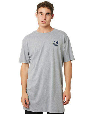 New Feat Men's Tall Tee Short Sleeve Cotton Grey