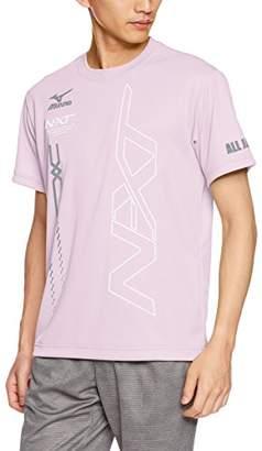 Mizuno (ミズノ) - (ミズノ) MIZUNO(ミズノ) テニスウェア オリジナルTシャツ 62JA8Z53 65 ライトピンク M