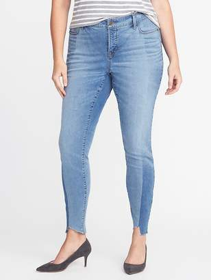 db7302ef2a36 Old Navy High-Rise Secret-Slim Pockets Plus-Size Rockstar Jeans