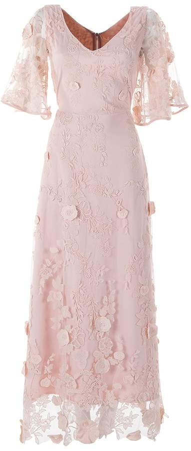 Emelita - Silk Lace Light Pink Dress