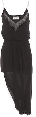 Saint Laurent Sleeveless silk dress