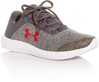 Under Armour Boys' Mojo Jersey Lace Up Sneakers - Big Kid