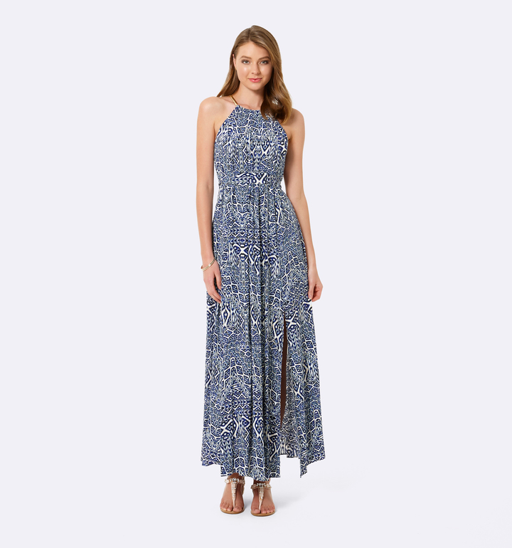 Halter Neck Maxi Dress - ShopStyle Australia