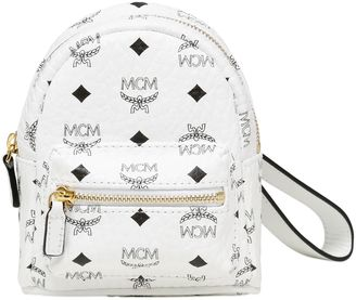 Mini Faux Leather Backpack Pouch $355 thestylecure.com