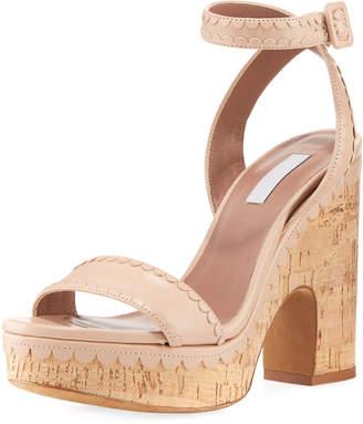 Tabitha Simmons Calla Cork Platform Sandal