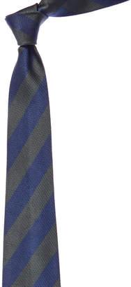 Chanel Blue & Green Jacquard Silk Tie