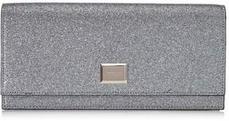Jimmy Choo LILIA Multi Shaded Fine Glitter Fabric Mini Bag