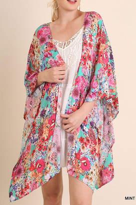 Umgee USA Hot Floral Kimono