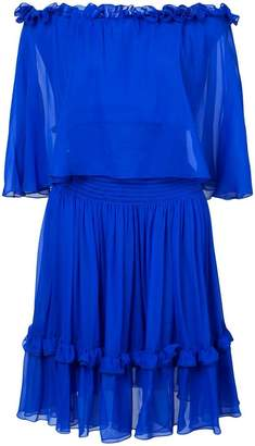 Prabal Gurung off-the-shoulders ruffled dress