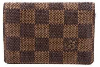 Louis Vuitton Damier Ebene Business Card Holder