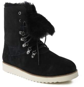 Australia Luxe Collective Yael Genuine Shearling Lined Suede Boot