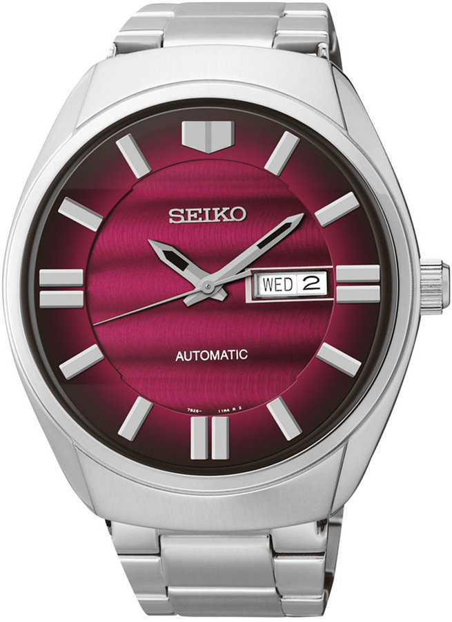 SeikoSeiko Men's Automatic Stainless Steel Bracelet Watch 44mm SNKN05