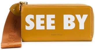 See by Chloe Joris long zipped wallet