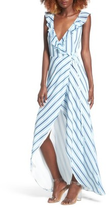 Women's Privacy Please Fillmore Wrap Maxi Dress $218 thestylecure.com