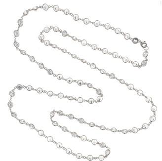 Swarovski Cosanuova White LG Long Necklace