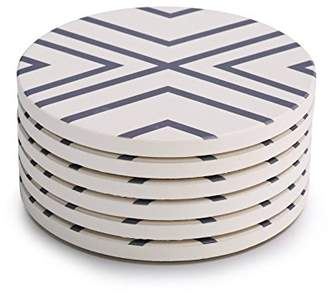 Lifver Absorbent Stone Coasters 6-Piece Set