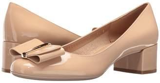 Salvatore Ferragamo Patent Leather Low-Heel Pump High Heels