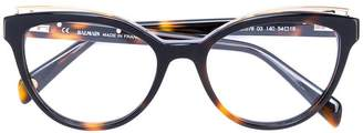 Balmain cat's eyes glasses