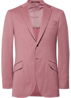 Richard James Pink Seishin Slim-Fit Wool Suit Jacket