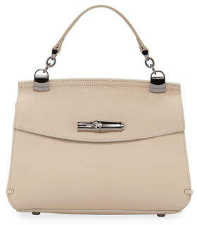 Longchamp Madeleine Leather Crossbody Bag